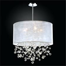 bubble chandelier drum shade silhouette contemporary crystal modern broadway linear chandeliers