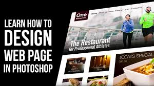 Web Design Tutorial How To Design Website In Photoshop