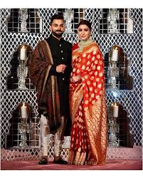 Anushka Sharma Fashion Designer Buy Anushka Sharma Silk Wedding Saree Online Latest