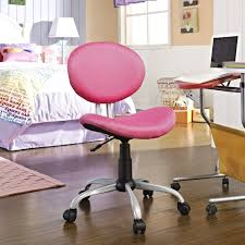 cool teen furniture. Bedroom Furniture Cool Teen Desk Chair Teens In Pink Color With Some Black Piloshed Base And Five Tire Legs Chairs For S
