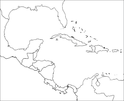 Outline Map Of South Central Printable Maps Blank America