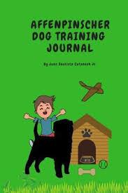 Dog Training Chart Affenpinscher Dog Training Journal Take Notes Set Goals