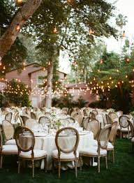 Decorating Ideas For A Summer Backyard Wedding | Receptions ...