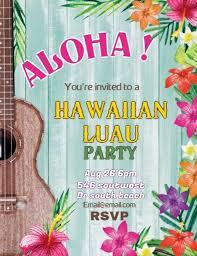 Luau Flyer Aloha Hawaiian Luau Flyer Template Postermywall