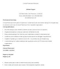 Clinical Pharmacist Cover Letter Clinical Pharmacist Letter Hospital ...