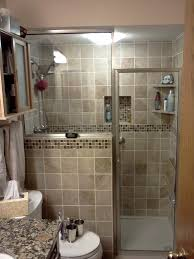 Newly Remodeled Stand Up Shower With Beautiful Tile Work - Bathroom shower renovation