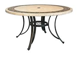 patio table tops round stone appealing top outdoor dining sets