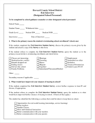 Best Photos Of Employment Exit Forms Employee Interview ... Letter ...