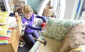 18 Mejores Imágenes De Reupholstery En Pinterest  Muebles De Como Tapizar Un Sillon En Casa