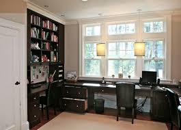 custom home office design. Fancy Built In Office Furniture Ideas Custom Home Decorating Design T