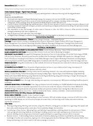 Digital Artist Resume Digital Marketing Resume Examples Gorgeous ...