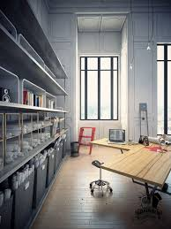 colorful contemporary modern industrial home office modern home office built in home office designs home office built home office desk builtinbetter