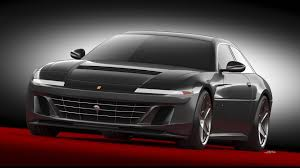 Ares Design Ares Design Project Pony Is A Ferrari Gtc4lusso With Retro Vibes