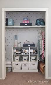 Office closet organizer Kitchen Fresh Coat Of Paint Office Closet Reveal Now Know What To Use That Shelf Organizer For Storage Ideas 22 Best Office Closet Organizer Images In 2019 Organizers Diy