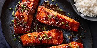 Bourbon-Glazed Salmon Recipe | MyRecipes