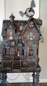 Steampunk Doll House be sure to check us out on Fb  www.Facebook.com/uniqueintuitions1 #uniqueintuitions #steampunk #dollhouse  | Pinterest | Steampunk dolls, ...