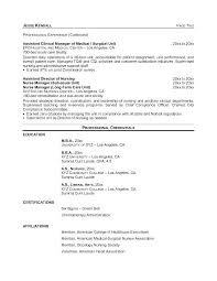 Nurse Resume Template Free Download And Best Nurse Resume Format ...