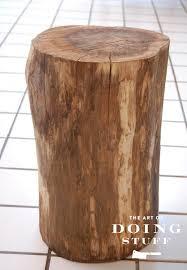 tree trunk furniture. plainstump tree trunk furniture