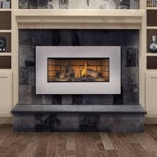gas burning fireplace insert