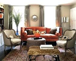 A Rust Color Couch Colored Sofa Roger For Decor Coloured Sofas