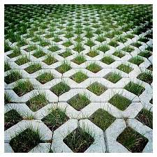 Contemporary Patio Stones With Grass In Between Fill A Spray Bottle Some White Vinegar To Innovation Ideas
