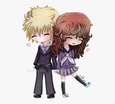 Cute Couple Png Cute Couple Cartoon Hugging Anime Chibi Couple 1238494