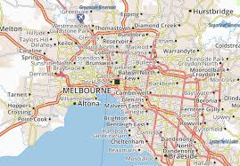 Street names and houses, address search. Michelin Melbourne Map Viamichelin