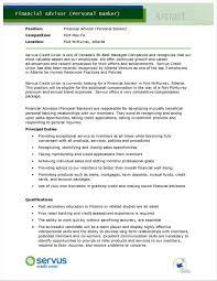 Resume Objective Examples For Personal Banker Rhinsuredonlineinfo