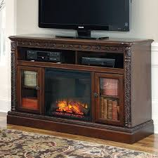 North Shore Large TV Stand w Fireplace