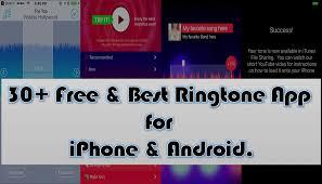Iphone Ringtone Designer App 30 Free Best Ringtone App For Iphone Android Tele