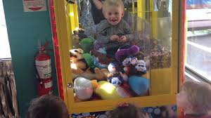 Kid Stuck In Vending Machine Interesting Kid Stuck In Skill Tester Machine Threw Toys And Lollies Down For