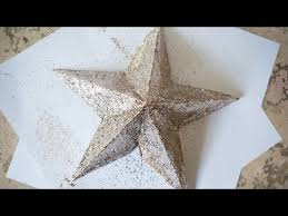 DIY <b>STAR Christmas tree</b> topper | 3D <b>Star</b> | Superholly - YouTube