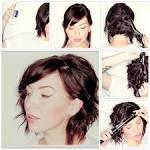 Причёска на средние волосы пошагово