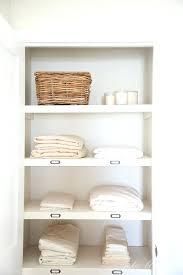 linen closet hll remodel shelf depth shelving kit