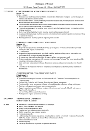 Customer Service Customer Representative Resume Samples Velvet Jobs