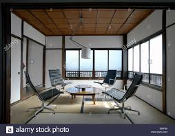 japanese office furniture. Contemporary Tatami Room With Charles Eames Office Chairs In A Japanese Apartment Tokyo Furniture N