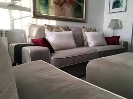 kivik sofa review 3 slipcovers in rouge ash velvet and contrast piping by comfort works ikea
