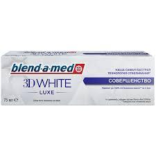<b>Зубная паста Blend</b>-a-<b>med 3d</b> white luxe, 75 мл | Магнит Косметик