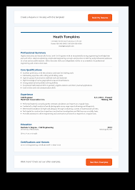 Entry Level Civil Engineering Resume Template Templates At