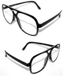 Best Mens Designer Glasses Frames Mens Womens Aviator Round Clear Lens Nerd Eye Glasses 80s