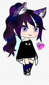 Wolf Girl Gacha Life Png,Cute Kawaii ...