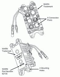 warn winch wiring schematic atv wiring diagram warn winch wiring diagram 4 post diagrams