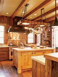 Kitchen Ceiling Hanging Rack Kitchen Try This Hanging Pot Rack Design For Your Kitchen