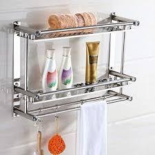 bathroom storage towel shelf