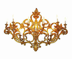 elegant and large this antique style nine light wall sconce will be a graceful focal