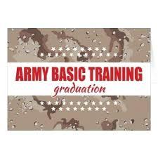 army basic training graduation gifts congratulations card idea party celebration
