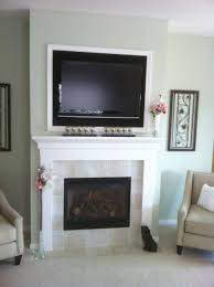 what is a direct vent fireplace. Tile Faced Fireplace Custom Wood Surround TV Above Modern Mendota Direct Vent What Is A T