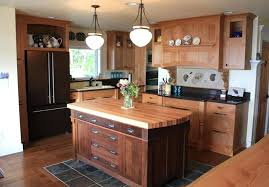 small kitchen island butcher block. Delighful Small Sensational Small Kitchen Island With Butcher Block Top And Glass Jar  Flower Vases Also Black Counter Inside I