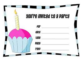 a birthday invitation make your own birthday invitations oxsvitation com