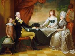 george washington parke custis the washington family by edward savage painted between 1789 and 1796 shows from left to right george washington parke custis george washington